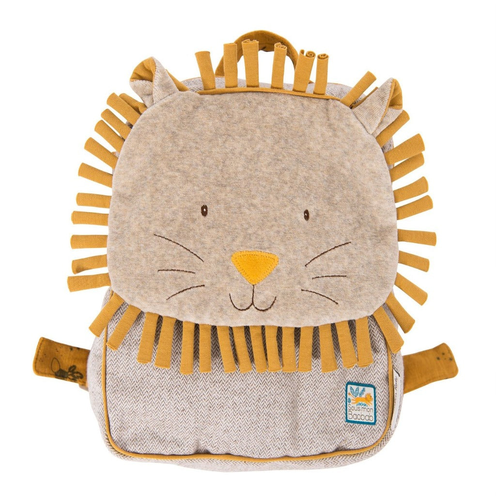 Moulin Roty Sous mon baobab Paprika Child Backpack