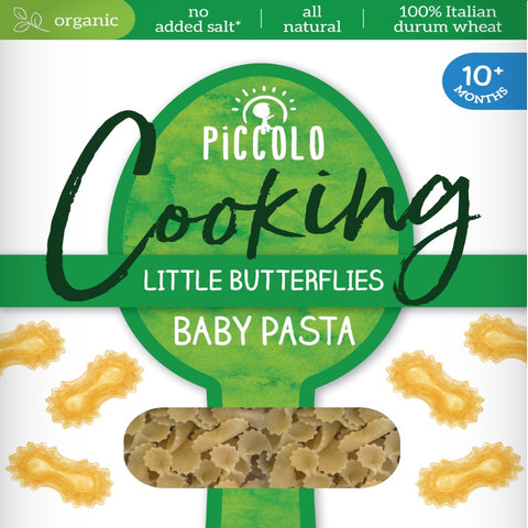 Piccolo Organic Cooking Little Butterflies Baby Pasta 10 months+