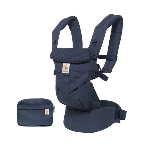 Ergobaby Omni 360 Baby Carrier - Navy Mini Dots