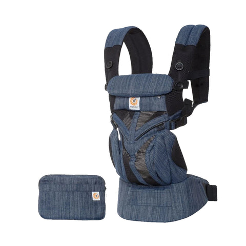 Ergobaby 360 Four Position Baby Carrier - Denim Blue