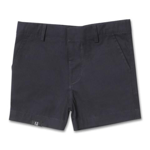 Maison Q Formal Shorts Navy