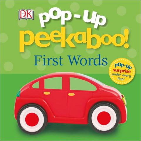 Dk books Pop-Up Peekaboo! First Words
