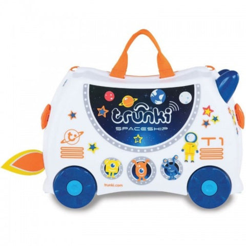 Trunki Ride-On Suitcase Skye Spaceship