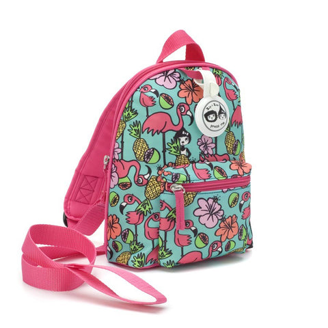 Babymel Zip & Zoe Mini Flamingo Backpack