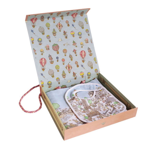 Atelier Choux Gift Set - Carre + Small Bib Bundle (With Box)