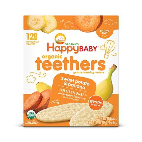 Happy Family Organics Sweet Potato & Banana Teethers Snacks