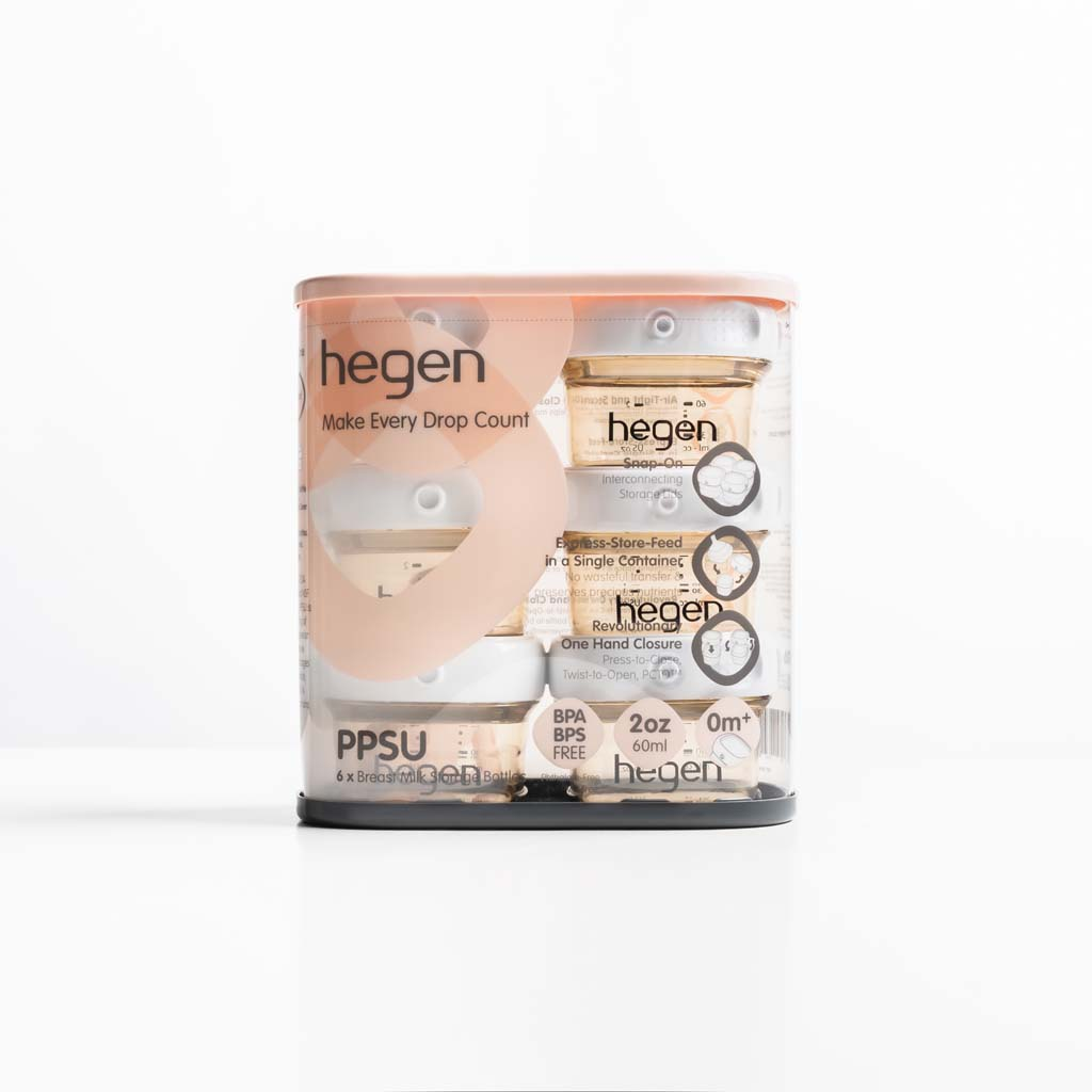 Hegen PCTO™ 60ml/2oz Breast Milk Storage PPSU