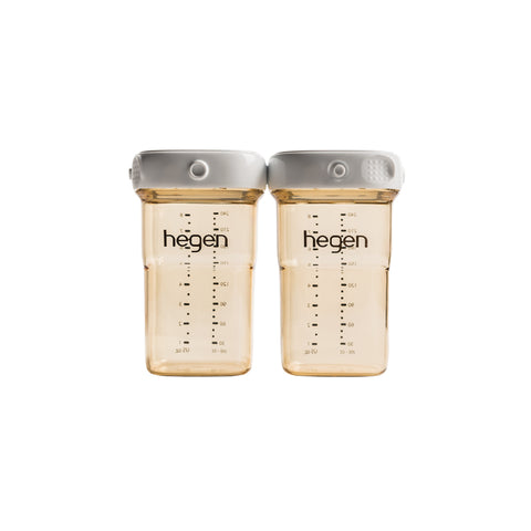 Hegen Breast Milk Storage 240ml PPSU x 2 pcs