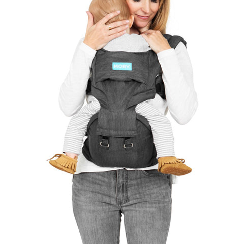 Moby 2 in 1 Carrier + Hip Seat
