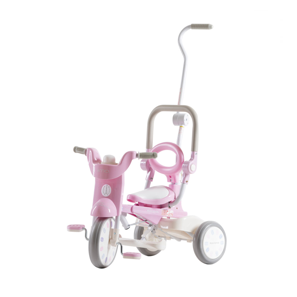 iimo X Macaron 3-in-1 Foldable Tricycle #2 - Sugar Pink (LIMITED EDITION)