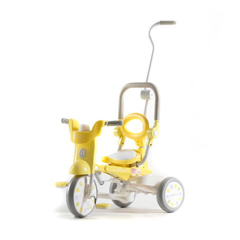 iimo X Macaron 3-in-1 Foldable Tricycle #2 - Banana Yellow (LIMITED EDITION)