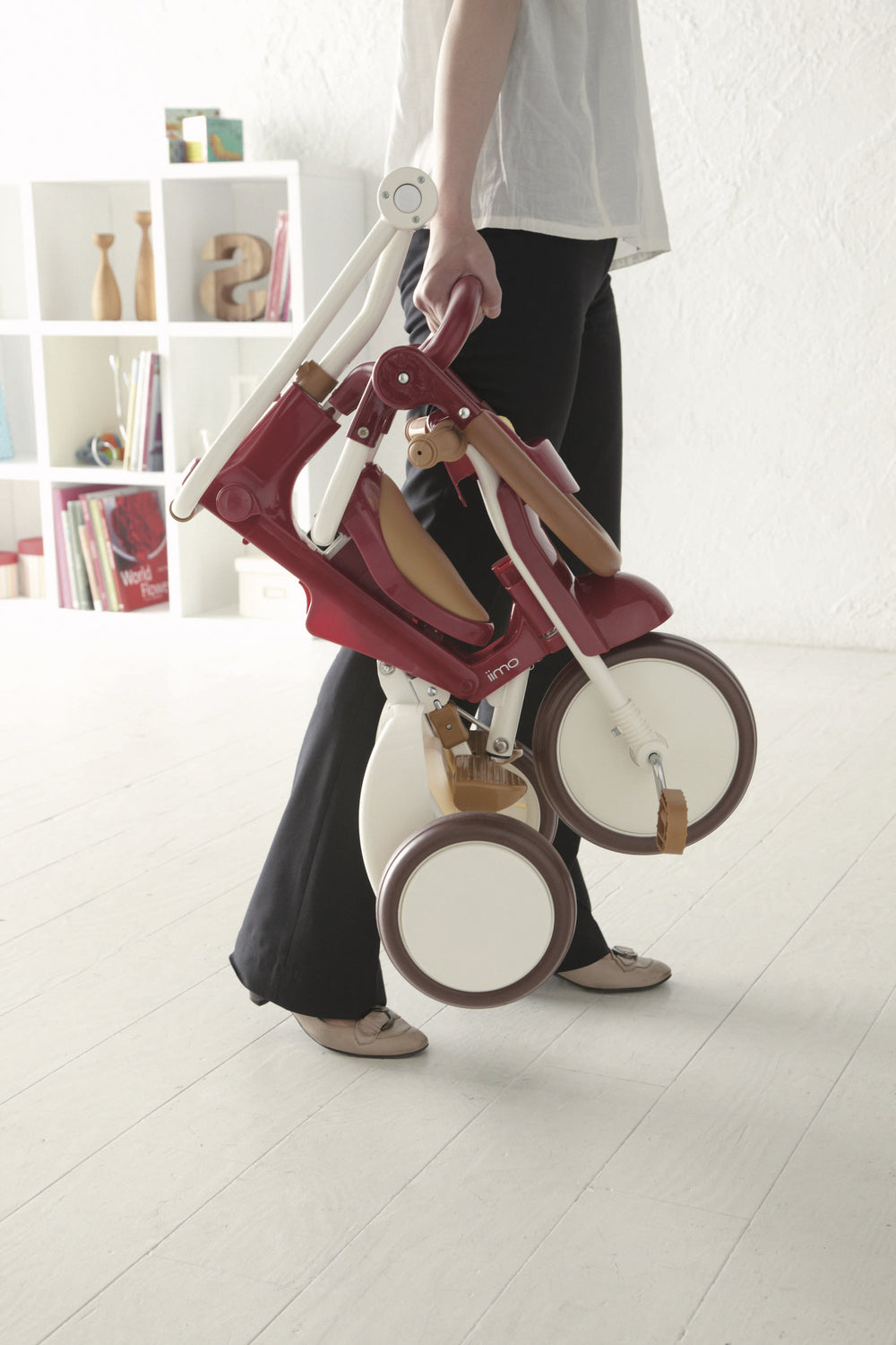 iimo 3-in-1 Foldable Tricycle #2 - Eternity Red