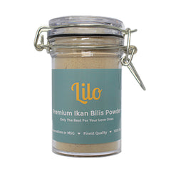 Lilo Premium Ikan Billis Powder 50g Bottle