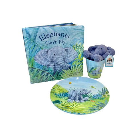 Jellycat Elephants Can't Fly Gift Set