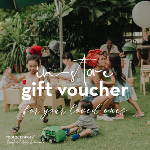 Motherswork Gift Vouchers (Offline use only)