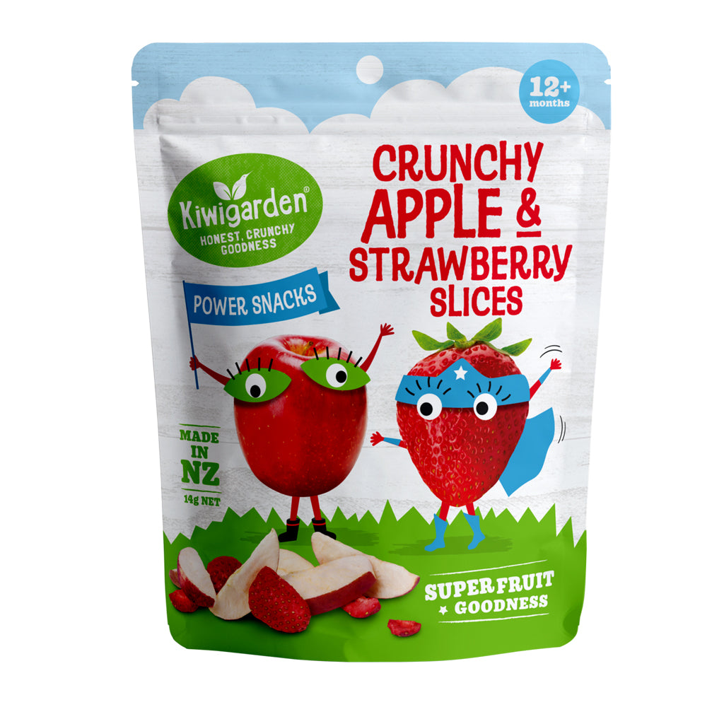 KiwiGarden Apple & Strawberry Slices
