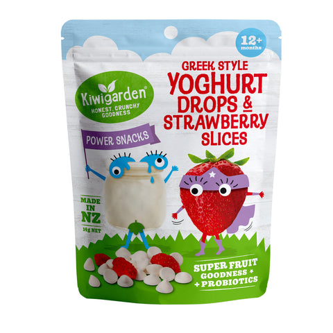 KiwiGarden Yoghurt Drops & Strawberry Slices