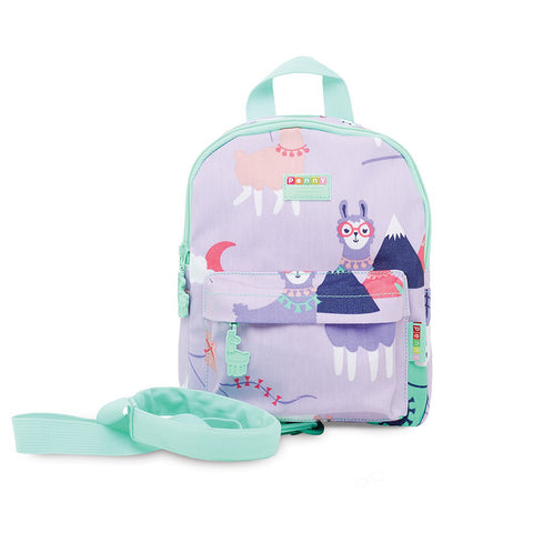 Penny Scallan Design Loopy Llama Mini Backpack with Rein