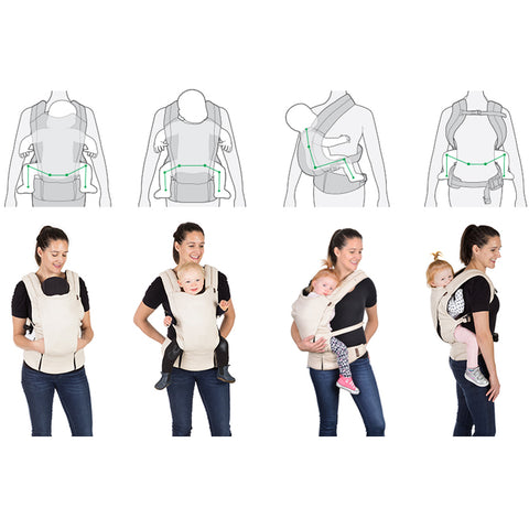 Mountain Buggy Juno Multi-Position Baby Carrier (Charcoal)