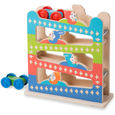 Melissa & Doug First Play Roll & Ring Ramp Tower