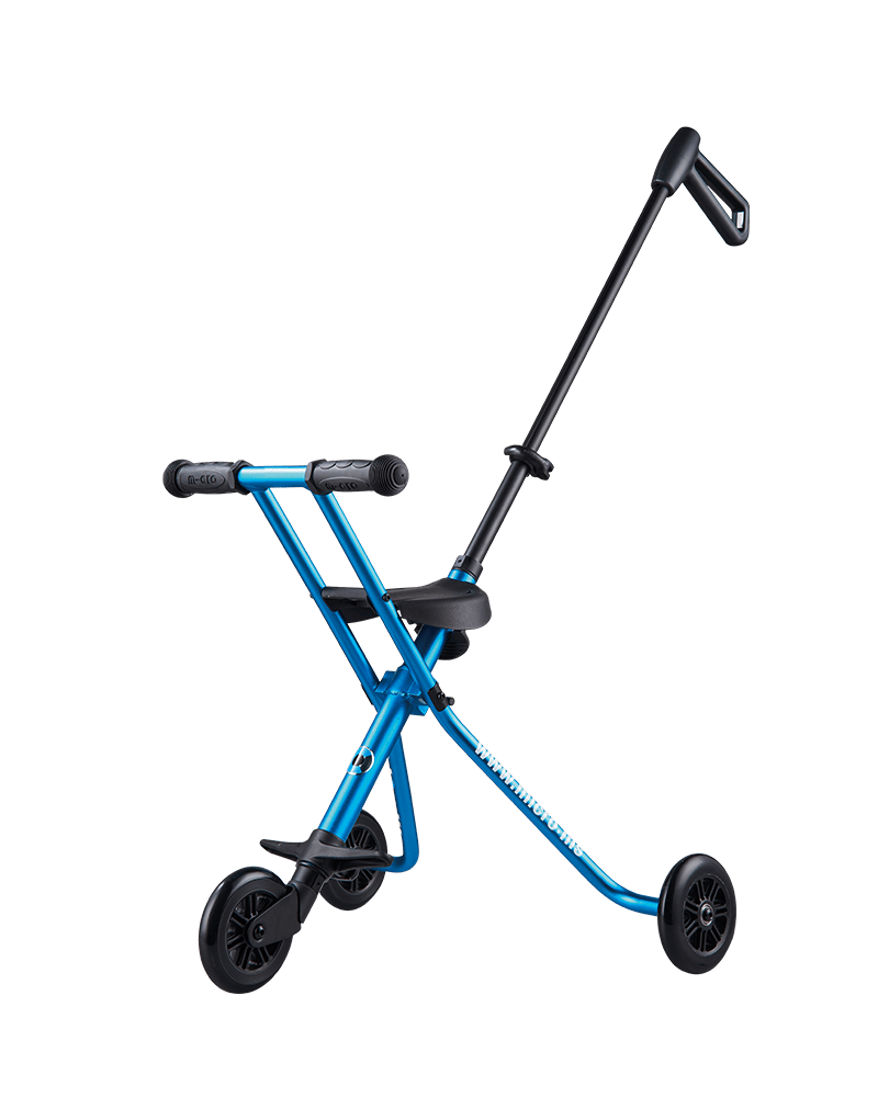 Micro Scooter Trike Deluxe Blue