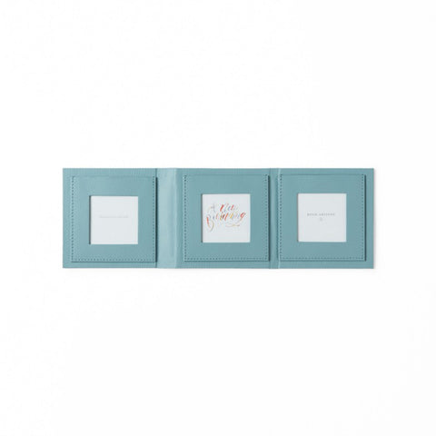 Mini Photo Frame by Bynd Artisan - Teal