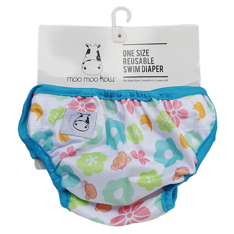 Moo Moo Kow One Size Swim Diaper