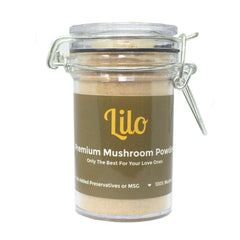 Lilo Premium Mushroom Powder 50g Bottle