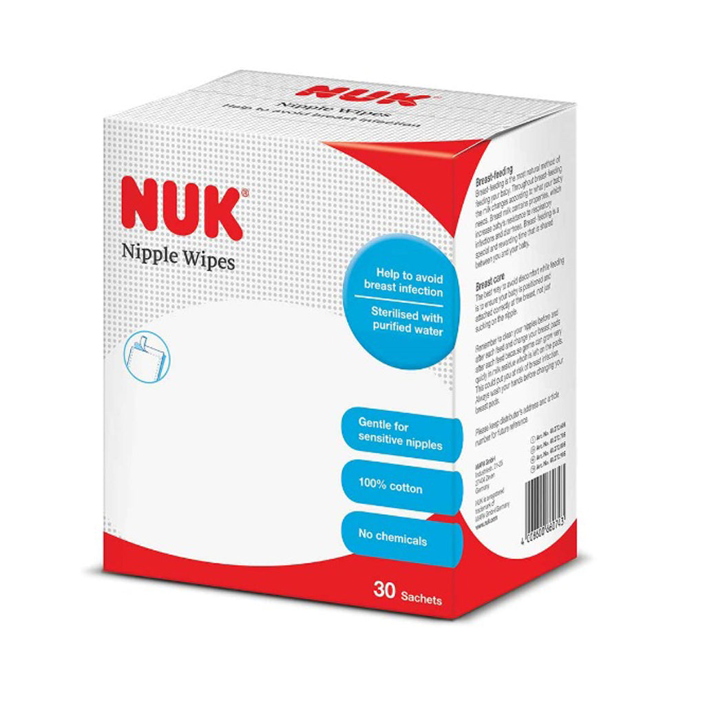 NUK Nipple Wipes