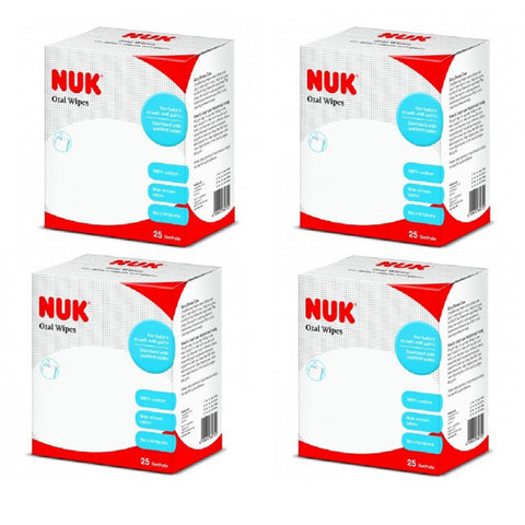 NUK Oral Wipes X4