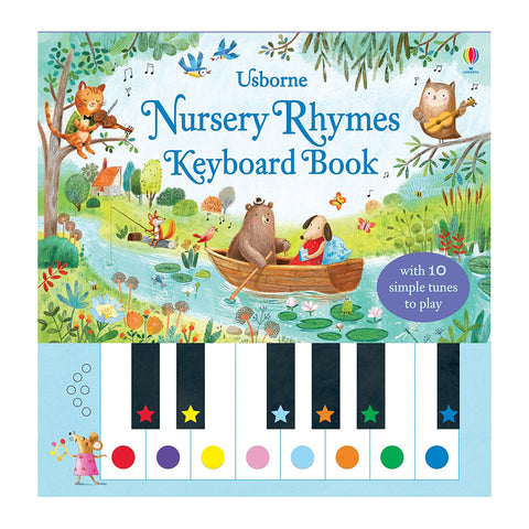 Usborne - Nursery Rhymes Keyboard Book