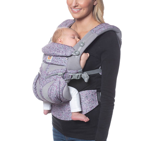 Ergobaby Omni 360 All-In-One Cool Air Mesh Carrier - Pink Digi Camo