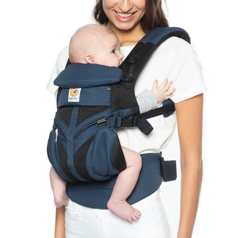 Ergobaby Omni 360 All-In-One Cool Air Mesh Carrier - Raven