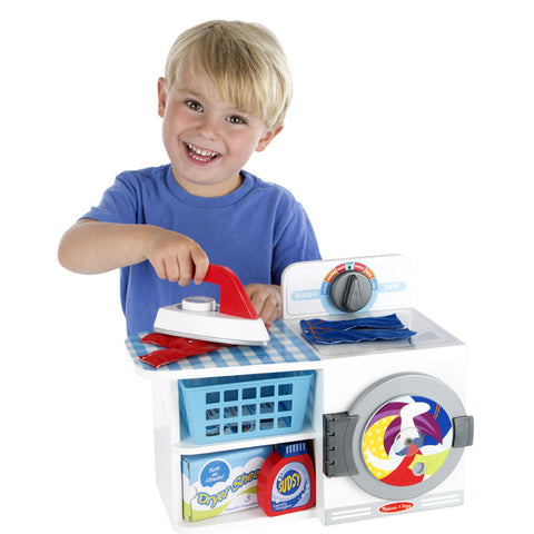 Melissa & Doug Play House - Wash, Dry, Iron