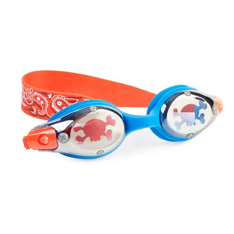 Bling2O Swimming Goggles - Pirates Battleship Blue