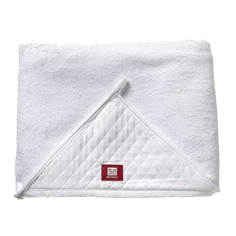 Red Castle Apron Bath Towel