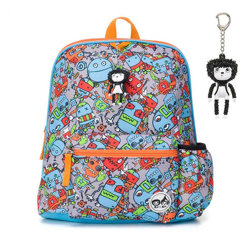 Babymel Zip & Zoe Kids 3Y+ Robot Blue Backpack