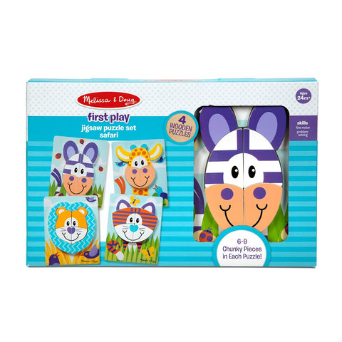 Melissa & Doug First Play Jigsaw Puzzle Set Safari 2 years+