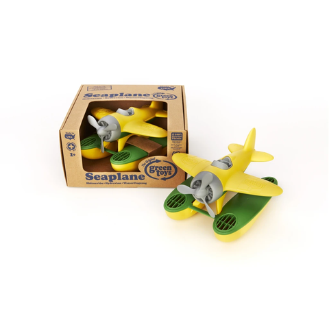 Green Toys -Seaplane-Yellow