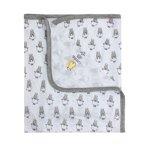 Baa Baa Sheepz Single Layer Blanket Small Sheepz
