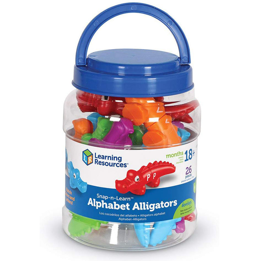Learning Resources Snap-n-Learn Alphabet Alligators