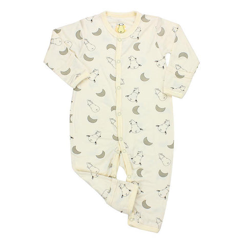 Baa Baa Sheepz Romper Moon Yellow