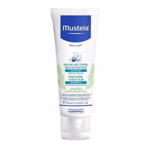 Mustela Soothing Chest Rub