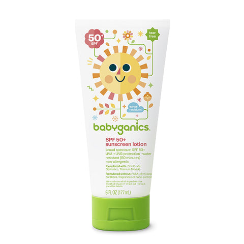 Babyganics Sunscreen Lotion
