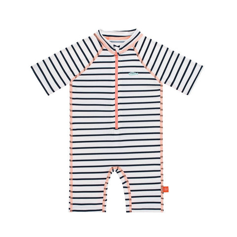 Lassig Girls Short Sleeve Sunsuit - Stripe