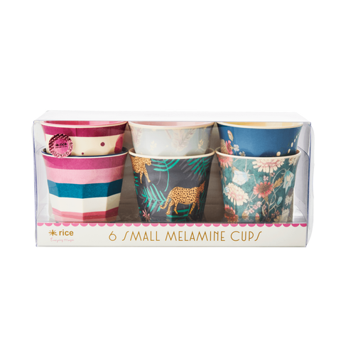 Rice 6pack Melamine Cup - Small
