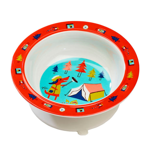 Sugarbooger Happy Camper Suction Bowl