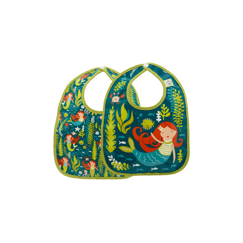 Sugarbooger Mermaid Mini Bib Gift Set of 2
