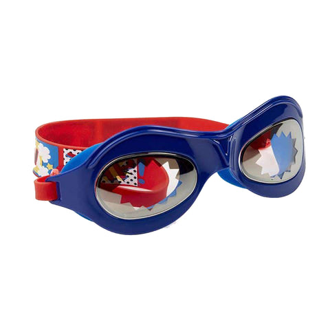 Bling2O Swimming Goggles - Marvelous Super Dude Red