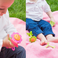 Innobaby Teether Rattle Flower